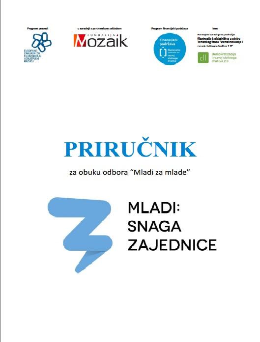 Priručnik - naslovnica